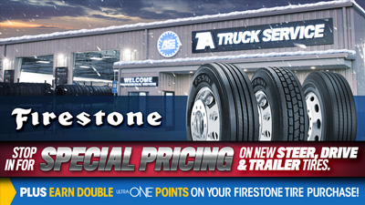 Kick Off the New Year with Firestone Tires at Special Prices