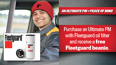 Get $5 Off Any Fleetguard Air Filter over $49.99