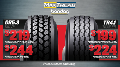 Maximize your tire investment with MaxTreads