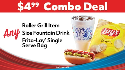 Craft Your Own Roller Grill Combo Deal!
