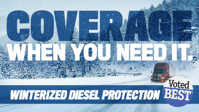 Winterized diesel fuel when and where you need it