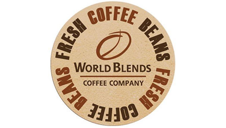 World Blends fresh coffee beans