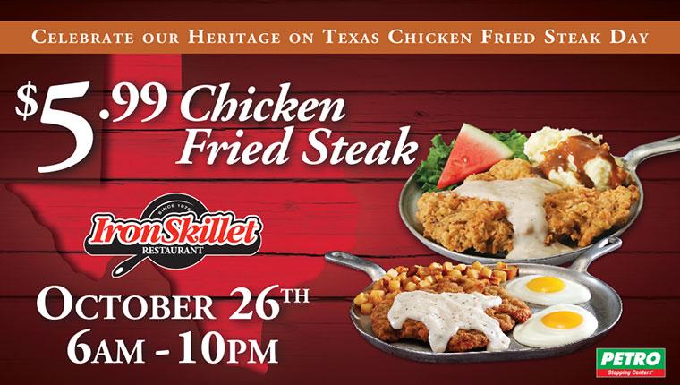Chicken Fried Steak Day Travelcenters Of America