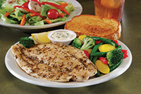 flavorful farm-raised Southern Breaded or Cajun Grilled whitefish fillets