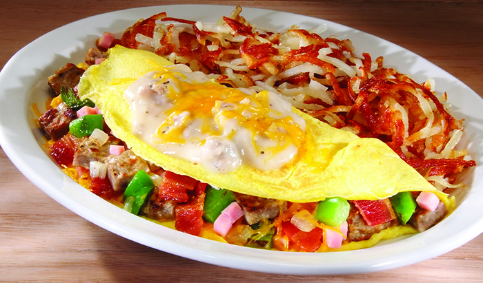 Meat Lovers Omelette