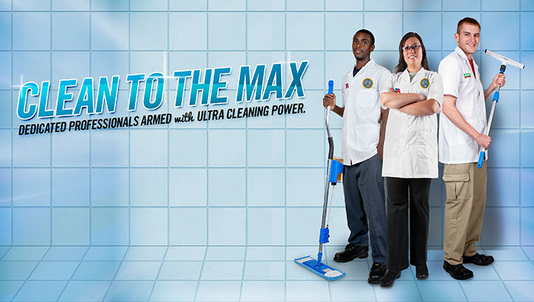 Clean to the Max shower cleaning crew