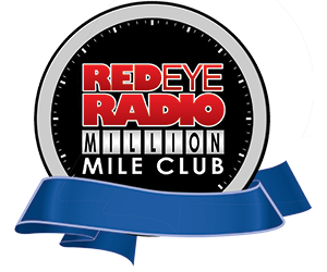 Red Eye Radio Million Mile Club logo