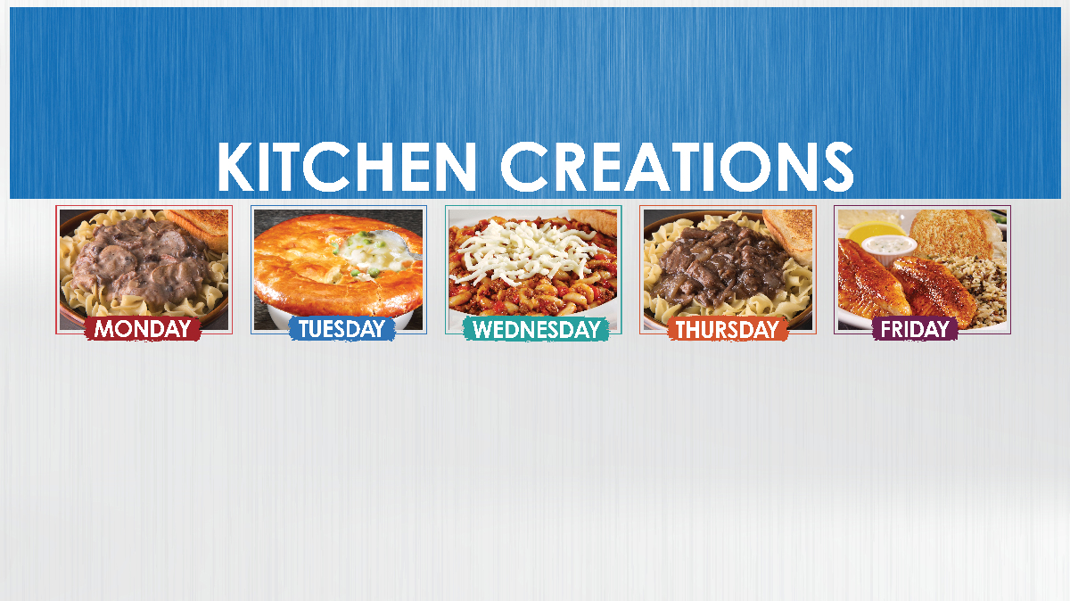 Country Pride kitchen creations