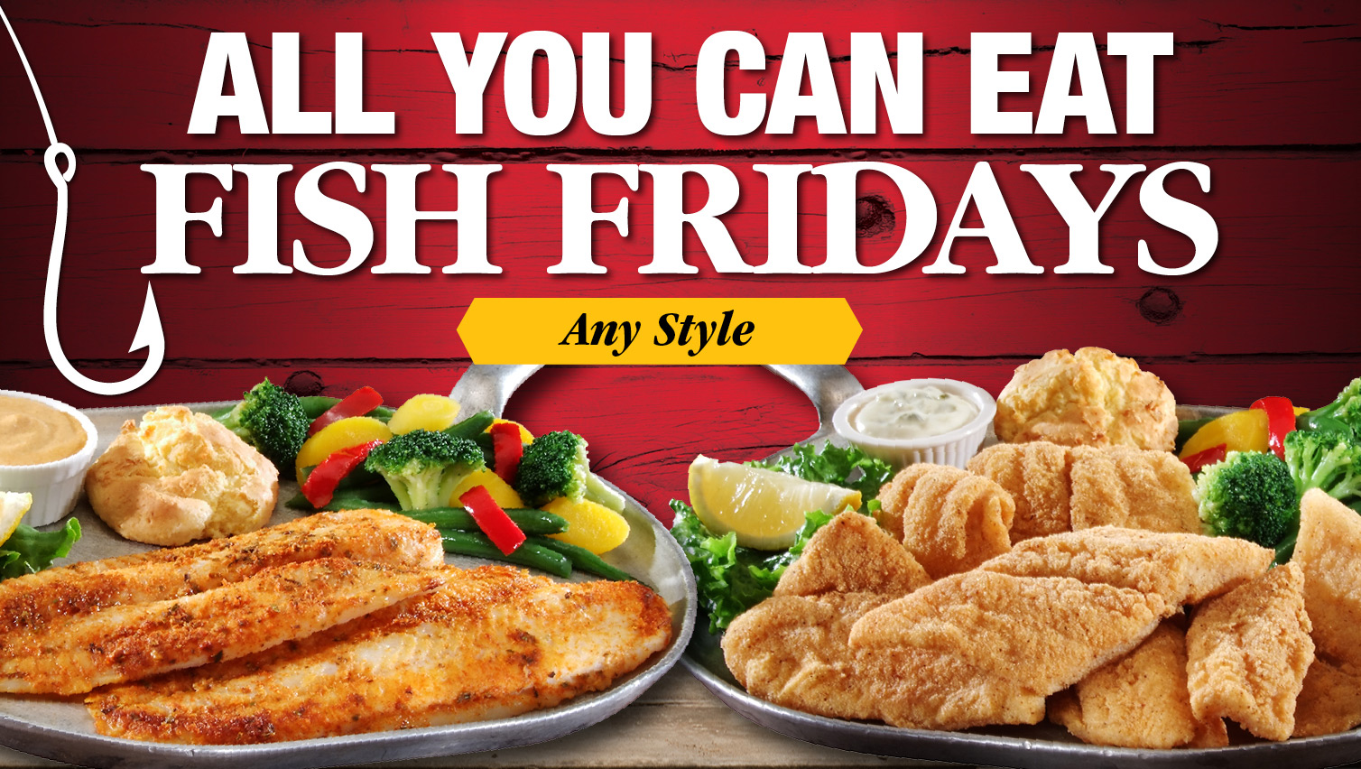 Iron skillet travel centers of america for All you can eat fish fry