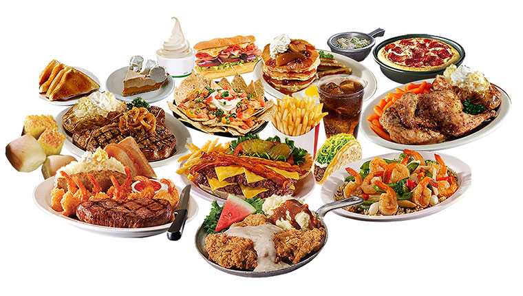 Image of restaurant dishes