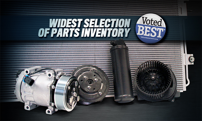 Widest Selection of Parts
