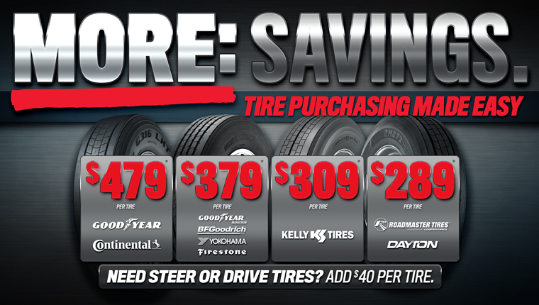 Commercial Tire Network Tire Pricing
