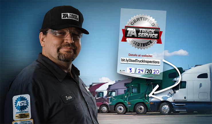 TA Truck Services Inspector