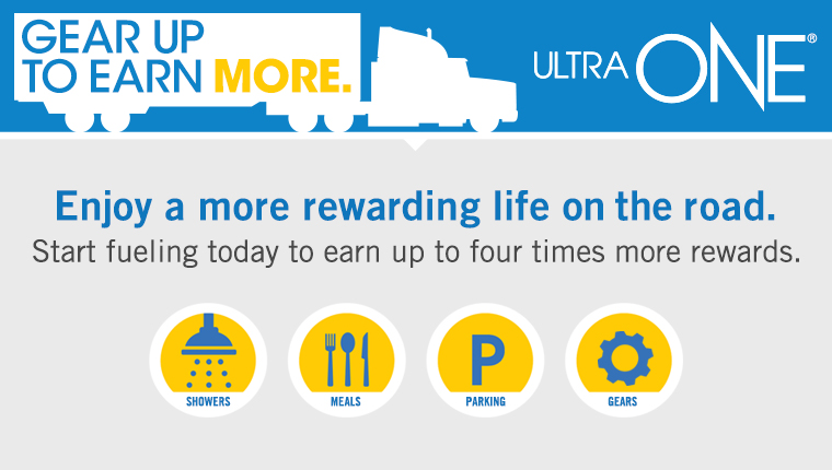 UltraONE Loyalty Program | TravelCenters of America