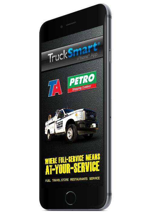 Trucksmart Mobile App Travelcenters Of America