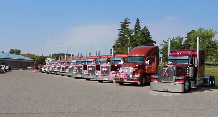 Trucking for a Cure Fleet Participants