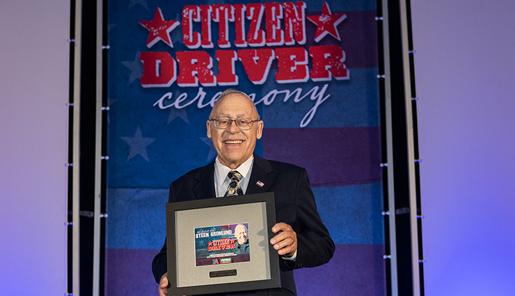 2019 Citizen Driver honoree Steen Gronlund.