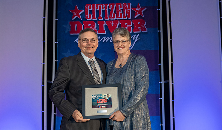 2019 TA and Petro Citizen Driver Team Kenn and Beth Zelten.